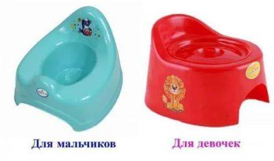 Как правильно выбрать горшок для ребенка