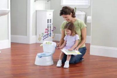 Как научить ребенка ходить в туалет