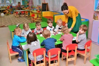 Как идут группы в детском саду
