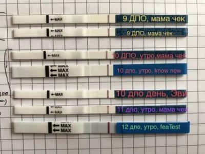 Можно ли делать тест на 10 день после овуляции