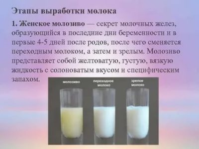 Каким образом вырабатывается грудное молоко