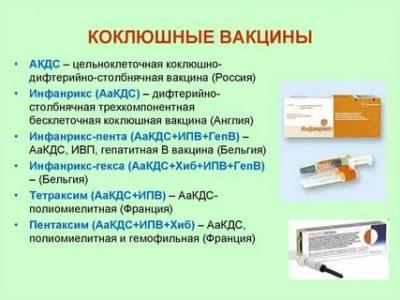 Для чего ставят прививку Акдс
