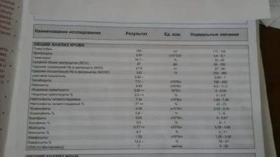 Можно ли узнать о беременности по общему анализу крови