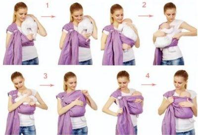 Можно ли носить ребенка в слинге
