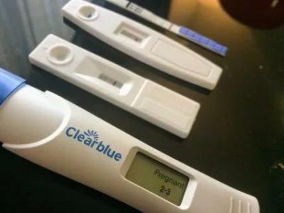 Как делать тест на беременность Клеар Блю