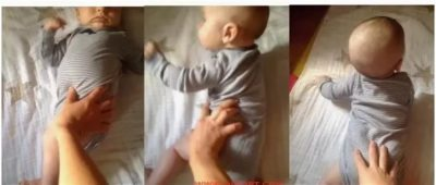 Как правильно учить ребенка переворачиваться с живота на спину