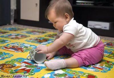 Как быстро научить ребенка сидеть
