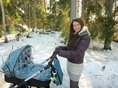 Когда можно начинать гулять с новорожденным зимой