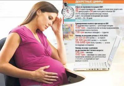 Когда можно уйти в отпуск по беременности