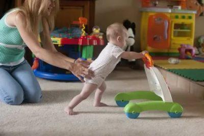 Как быстро научить ребенка ходить