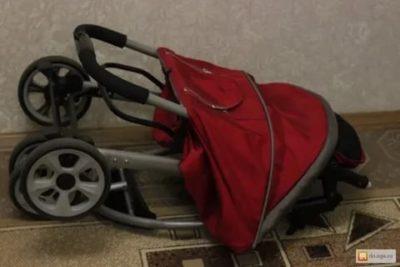 Как сложить коляску Lider Kids