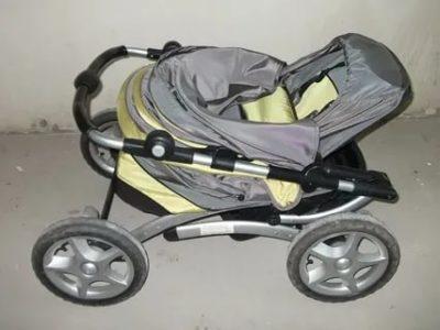 Как разобрать детскую коляску Geoby