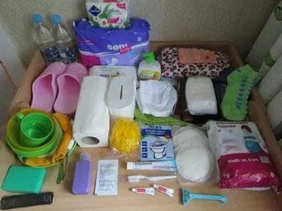 Что нужно положить в сумку в роддом