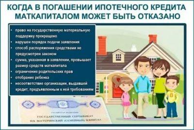 Можно ли использовать материнский капитал на погашение ипотеки