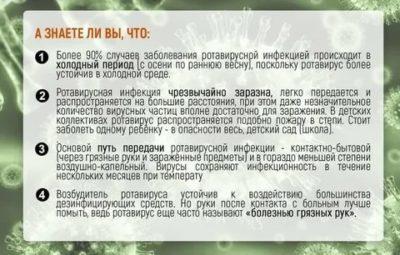 Сколько дней заразна ротавирусная инфекция