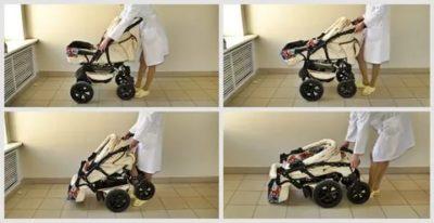 Как сложить коляску сам