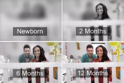 Как видит новорожденный ребенок