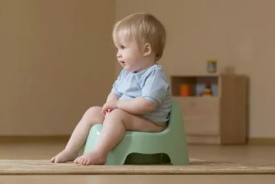 Как правильно научить ребенка садиться на горшок