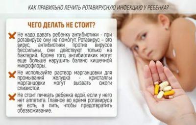 Как долго держится температура при ротавирусной инфекции