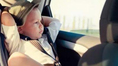 Когда ребенок может ездить без кресла