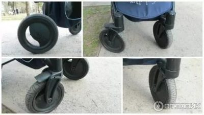 Как зафиксировать колеса на коляске Зиппи