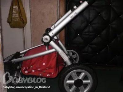 Как сложить коляску Good Baby EU
