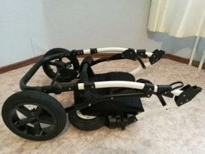 Как сложить детскую коляску индиго