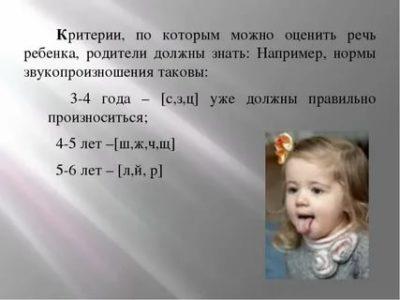 В каком возрасте дети начинают говорить букву Р