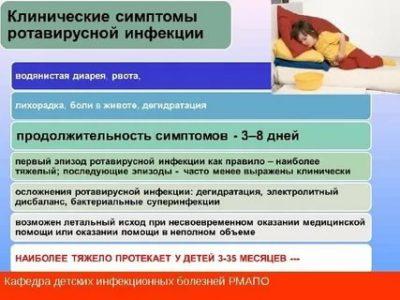 Как проявляется ротавирусная инфекция у детей
